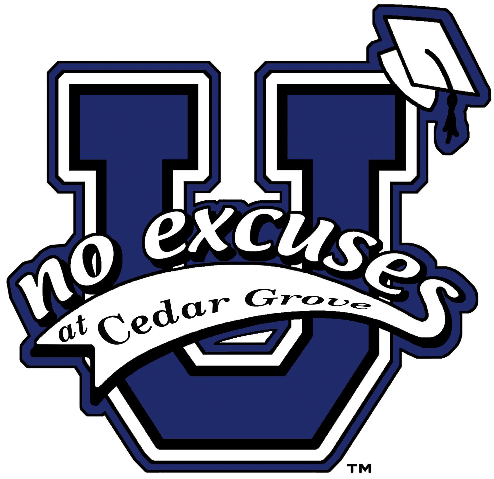 No Excuses at Cedar Grove Logo
